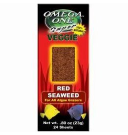 Aquaria OE MARINE ALGAE-RED 24 SHEET