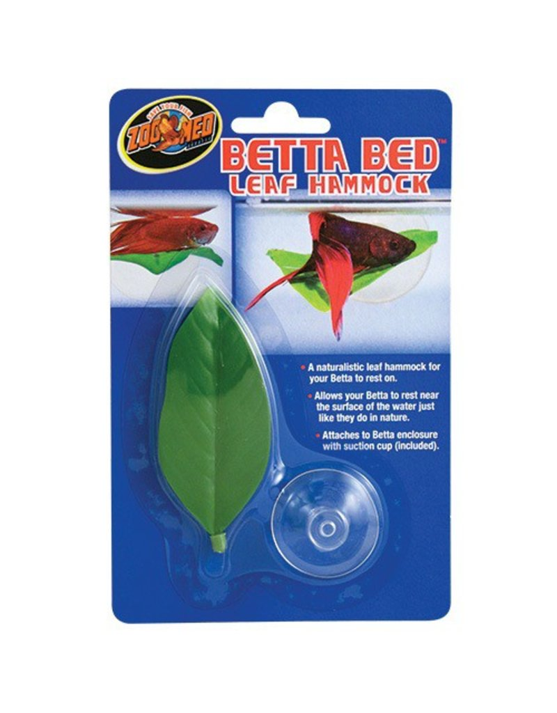 Aquaria Zoo Med BETTA BED - LEAF HAMMOCK