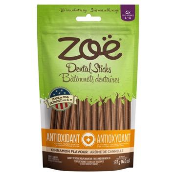 Dog & cat (W) Zoe Adult Anti-Ox. Treat Sticks, Lge