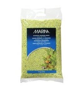 Aquaria (D) Marina Aquarium Gravel,Lime-Green,10kg-V