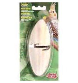 Bird (W) LW Cuttlebone with holder