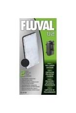Aquaria Fluval U2 Poly/Carbon Cartridge,2pcs-V