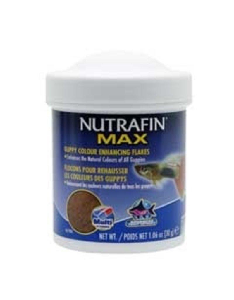 Aquaria Nutrafin Max Guppy Colour Enhancing Flakes 30 g