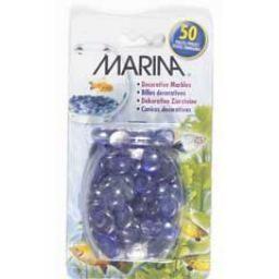 Aquaria (D) Marina Aqua Gems Marble Pearl Blue-V (LC)