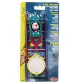 Bird LW Bird 3 Toys Assortment#2,Value Pack-V