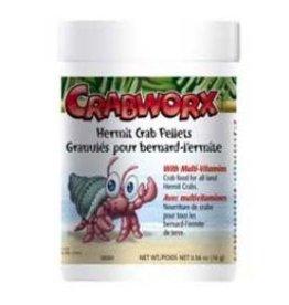 Reptiles (W) Crabworx Hermit Crab Pellets-V