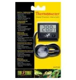 Reptiles Exo Terra LED Rept-O-Meter Thermometer-V