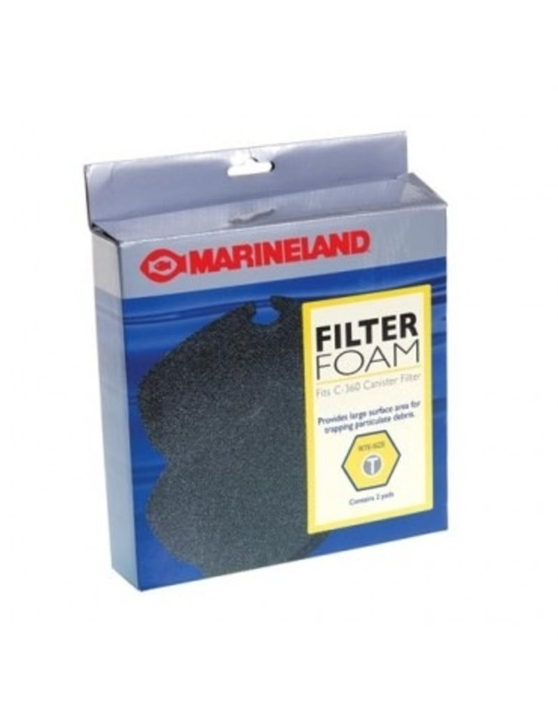Aquaria (D) ML C- MEDIA FILTER FOAM 360 2PK