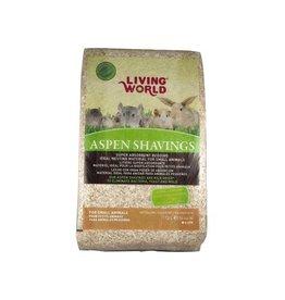Small Animal (W) Living World Aspen Shavings - 113 L (4 cu ft)