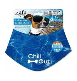 Dog & cat (W) CHILL OUT ICE BANDANA SM