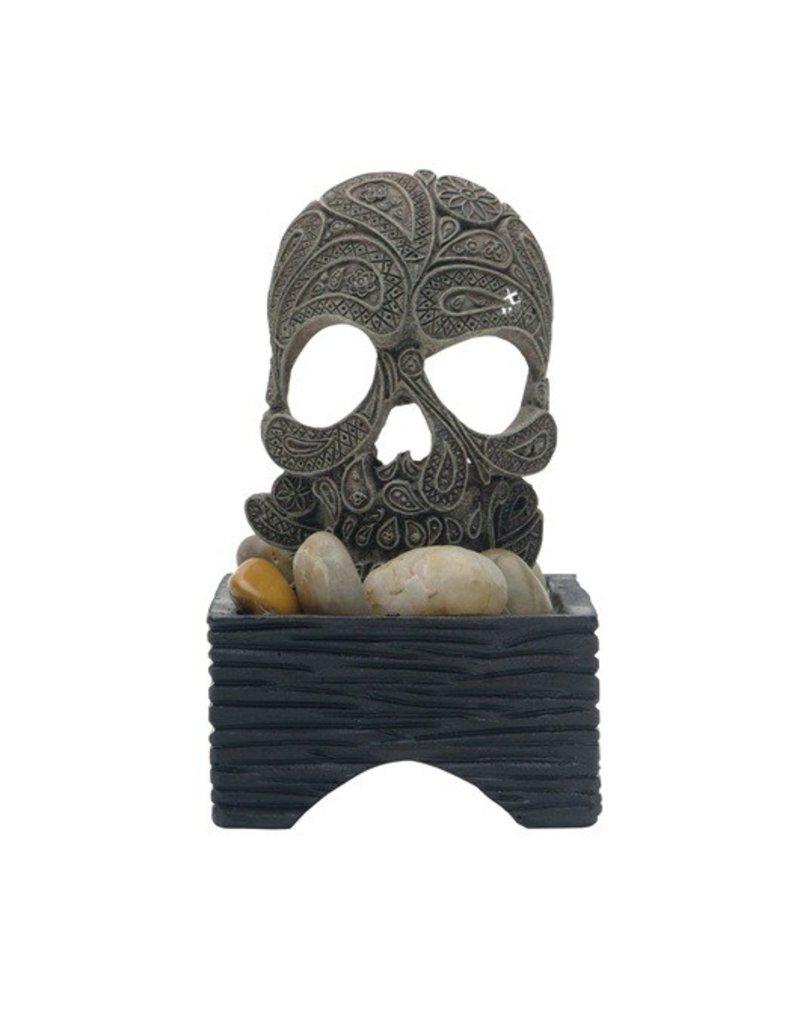 Aquaria (W) Marina Betta Skull Ornament