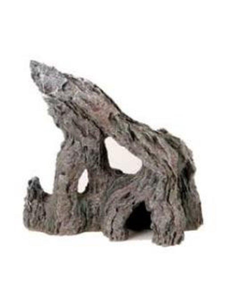 Aquaria (W) MA Ntrl Rock Outcrop w/Hole, Lge