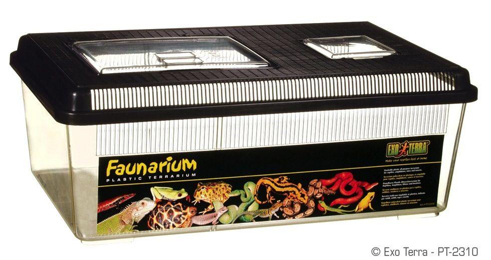 "Reptiles Exo Terra Faunarium 60 x 300 x 170mm, 18"" x 12"" x 6 1/2"""