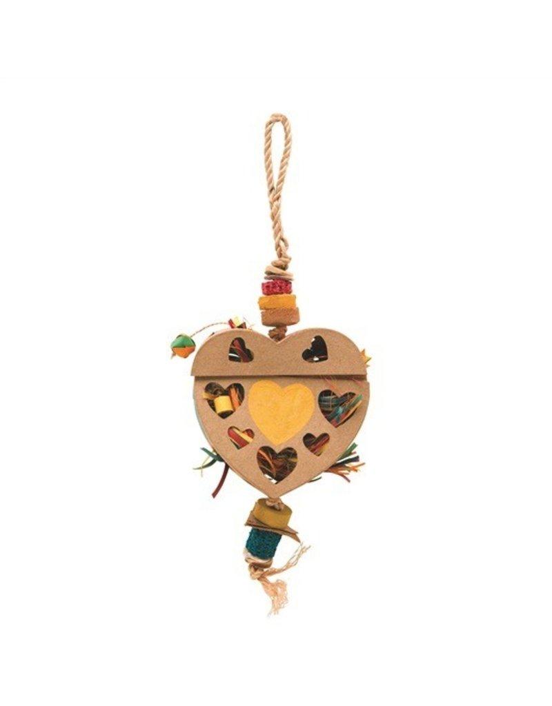 Bird (W) Ntr Trsr Heart Frging Box-M,L,XL Hkbil-V