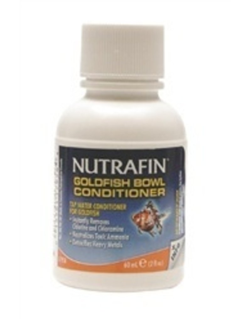 Aquaria (W) Nutrafin Goldfish Bowl Conditioner 60mL