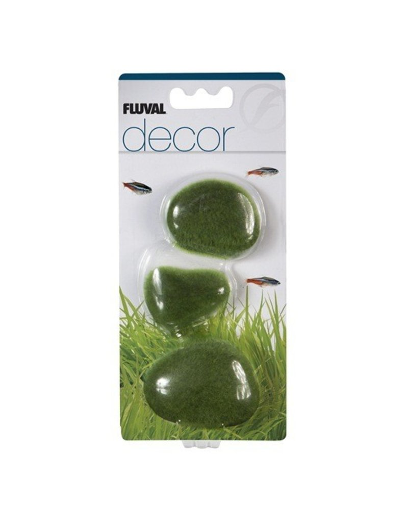 Aquaria Fluval Decor - Moss Stones - Small