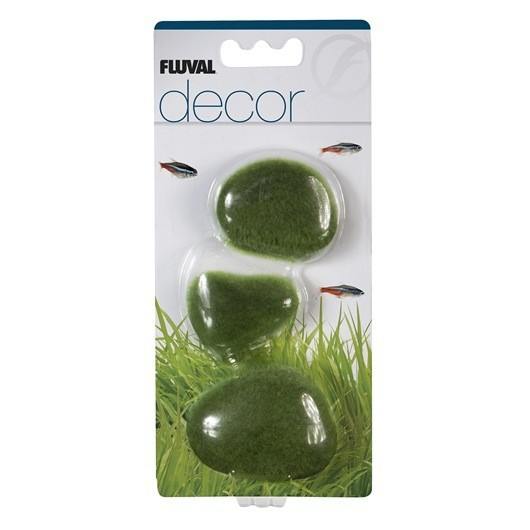 Aquaria Fluval Decor - Moss Stones - Small
