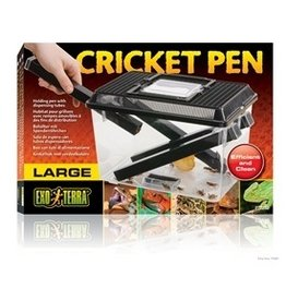 Reptiles Exo Terra Cricket Pen, Large-V