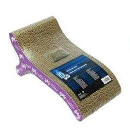 Dog & cat (W) Catit Pattern Scratcher w/ catnip, Butterfly