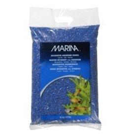 Aquaria (W) Marina Aquarium Gravel, Blue, 10kg-V