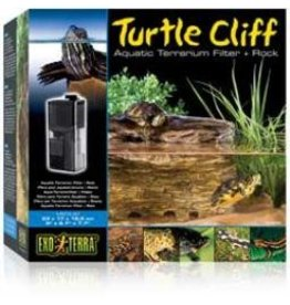 Reptiles (W) EX Turtle Clf.Ter. Fltr.& Rock, Medium-V