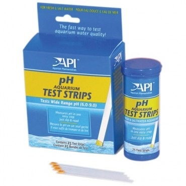 Aquaria AP pH AQUARIUM TEST STRIPS