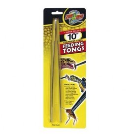 "Reptiles ZM 10"""" S STEEL FEEDING TONGS"