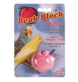 Bird LW Mineral Block- Apple