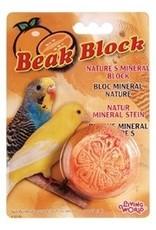 Bird LW Mineral Block- Orange