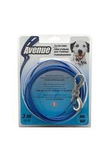 Dog & cat Avenue 10 Med Tie Out Cable Blue-V