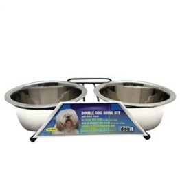 Dog & cat (W) ) Dogit SS Double Dog Diner, Medium-V