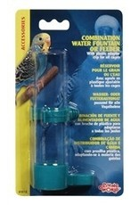 Bird LW Combination Water or Seed Feeder,Lg-V