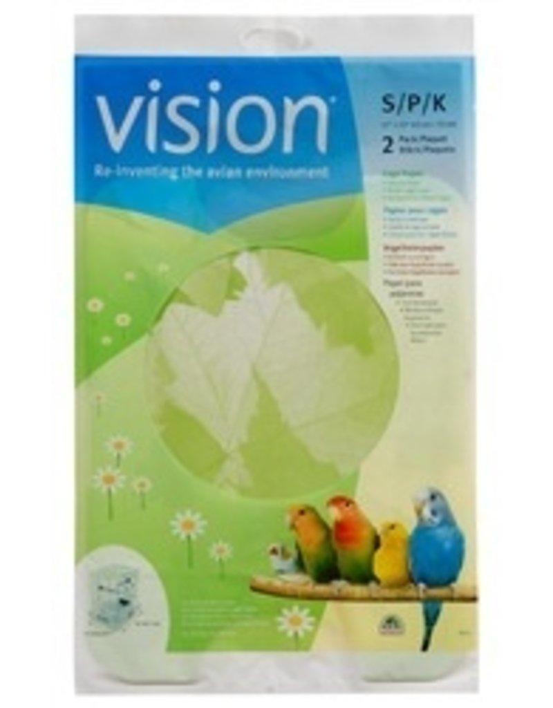 Bird (W) Vision Bird Cage Paper F/83200/10,2pcs-V