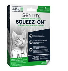 Dog & cat Sentry Cat & Kitten Flea Control