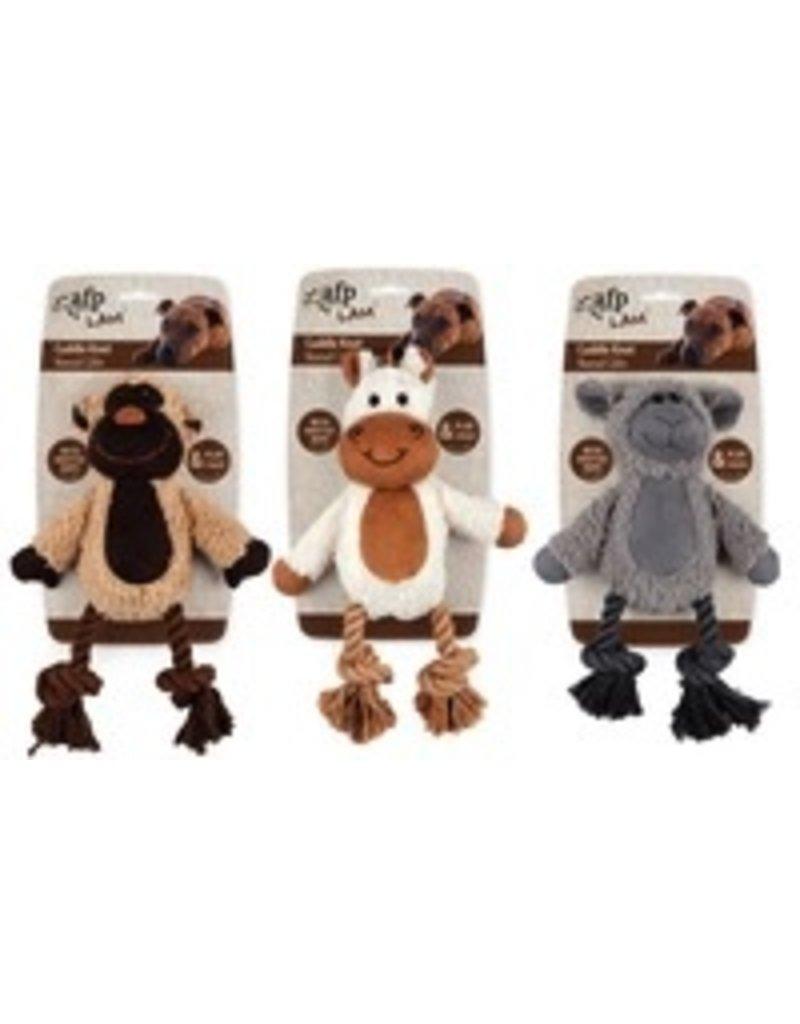 Dog & cat AFP Lamb Cuddle Knot Plush Dog Toy