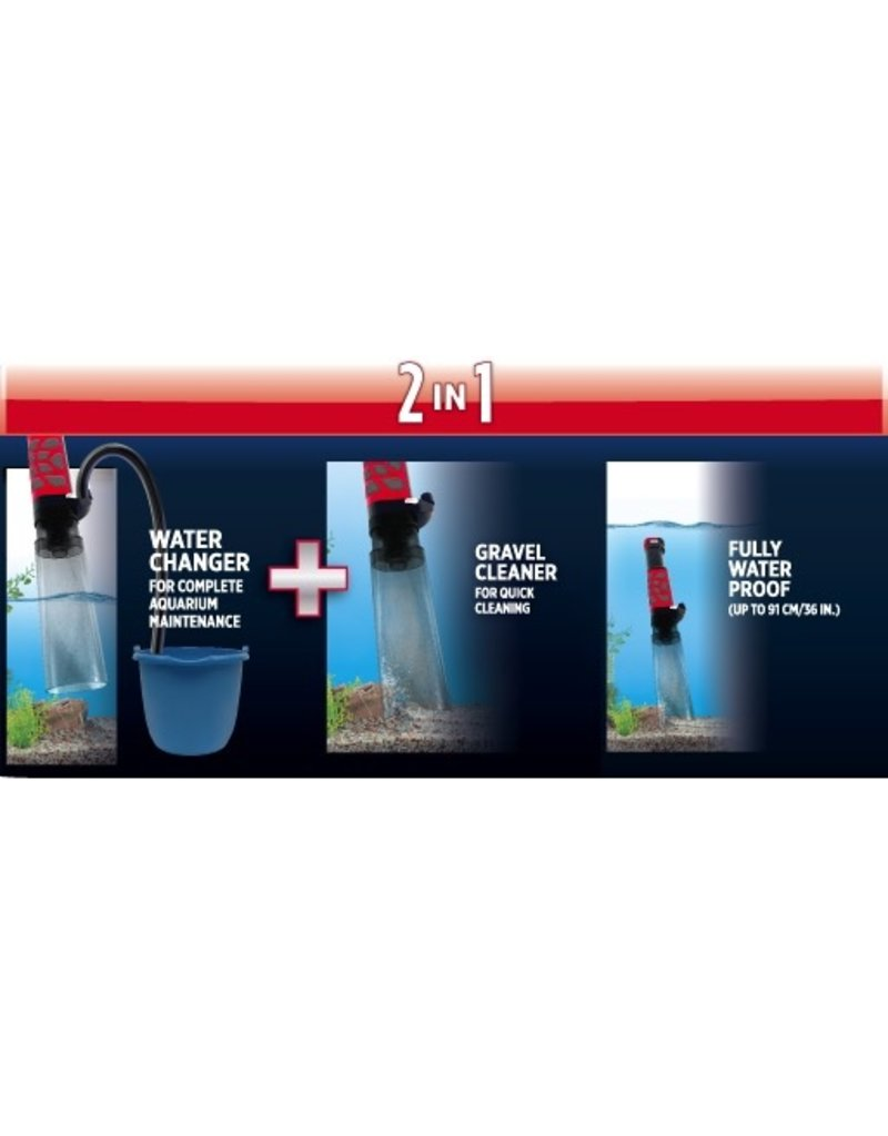 Aquaria (W) Fluval Aquavac+ Water Changer & Gravel Cleaner