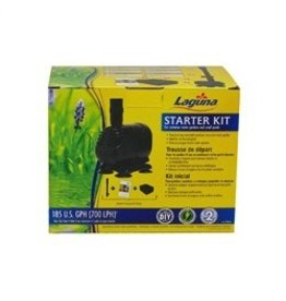 Pond Laguna Starter Kit - For Container Water Gardens and Small Ponds