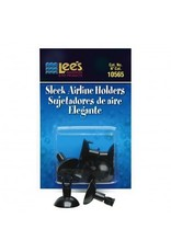 Aquaria (P) Sleek Airline Holders - Black - 6 pk