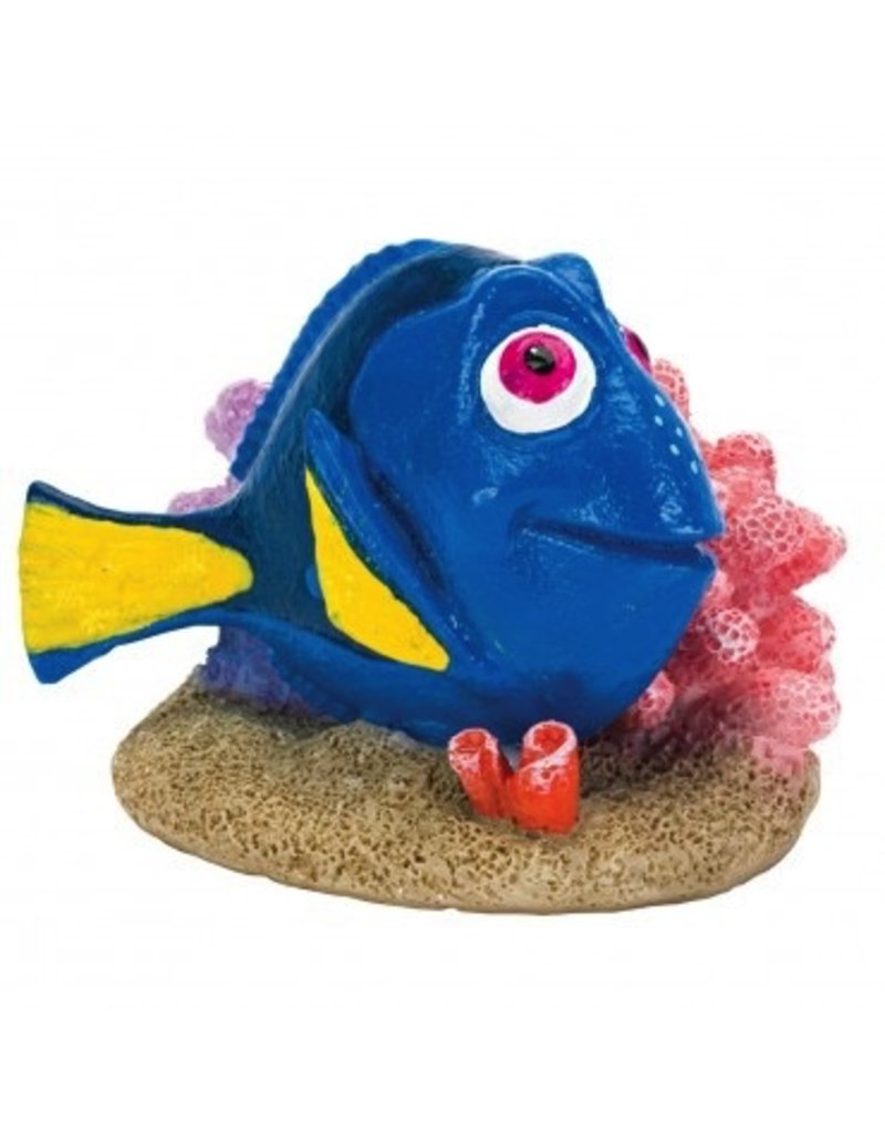 Aquaria (D) Finding Dory Dory with Coral - Mini
