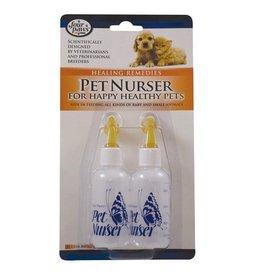 Dog & cat (D) Four Paws Pet Nurser Bottles - 2 fl oz - 2 pk