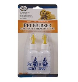 Dog & cat Four Paws Pet Nurser Bottles - 2 fl oz - 2 pk