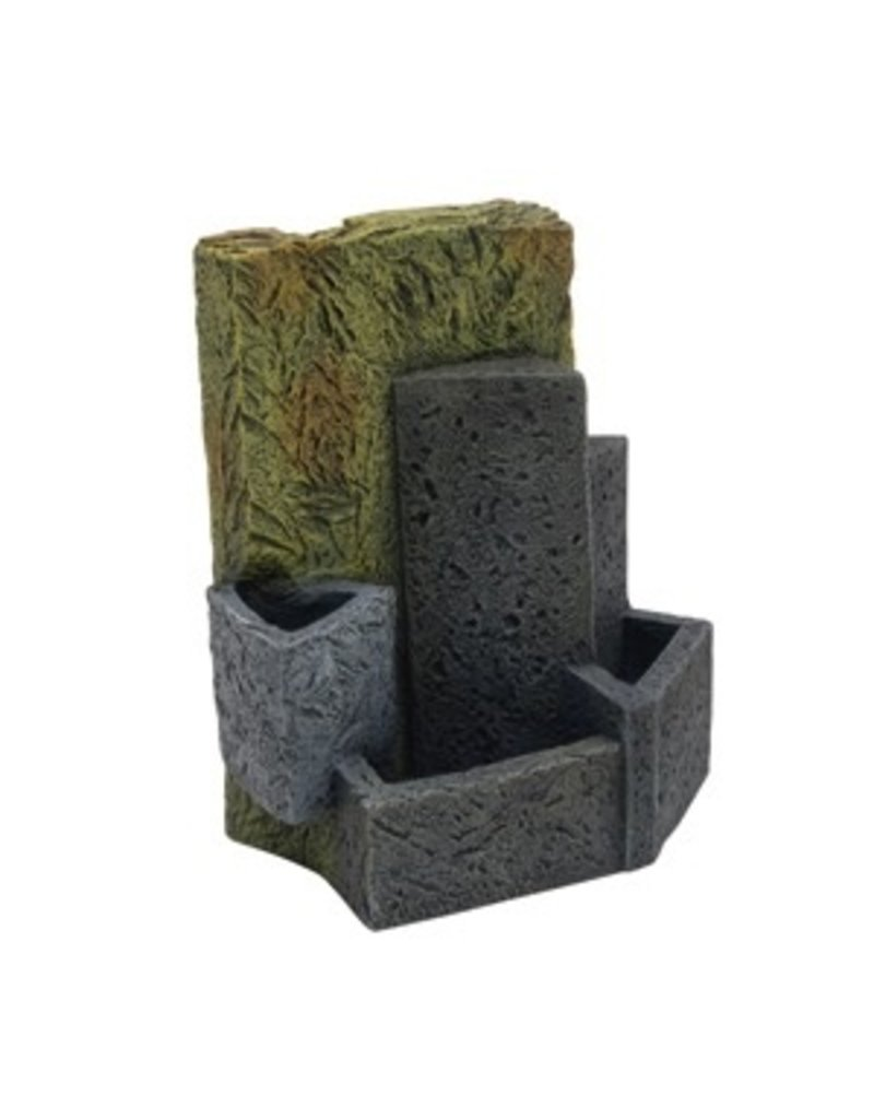 Aquaria (D) Fluval EDGE Ornament Stone Wall