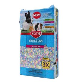 Small Animal Clean and Cozy Small Pet Bedding - 500 cu in - Birthday Cake