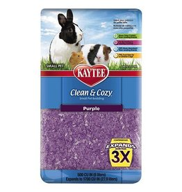 Small Animal Clean and Cozy Small Pet Bedding - 500 cu in - Purple