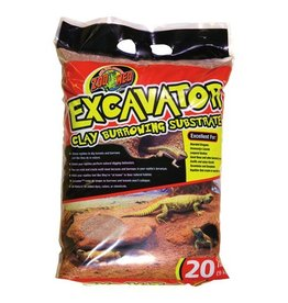 Reptiles ZM Excavator Clay Burrowing Substrate - 20 lb