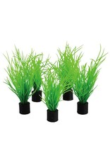 "Aquaria Mini Plant - Bog Grass - 3"" - 5 pk"