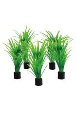 Aquaria UT 5PK MINI PLANT GREEN TALL GRASS