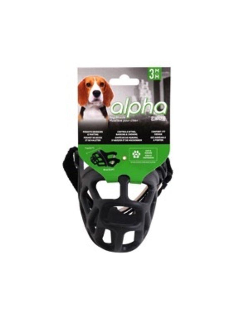 Dog & cat Alpha by Zeus Dog Muzzle - Size 3 - Medium