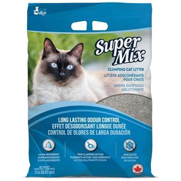 Dog & cat Cat Love Super Mix Unscented Clumping Cat Litter - 3 kg (6.6 lbs)