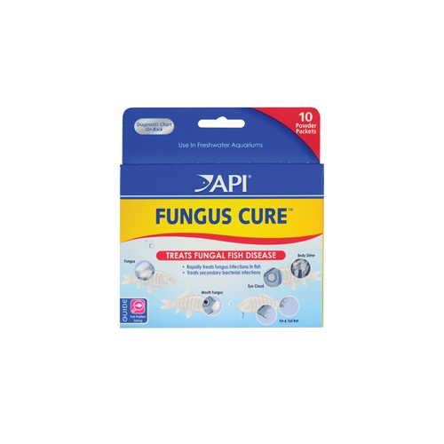 Aquaria (D) AP FUNGUS CURE POWDER PACKETS